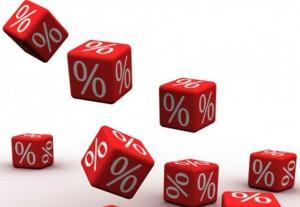 mazākas procentu likmes