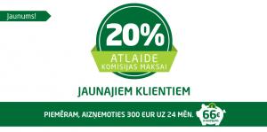 VIVUS 20% Atlaide Jaunajiem klientiem