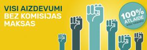 bino.lv AKCIJA – Revolūcija – 100% atlaidi komisijas maksai visiem aizdevumiem!